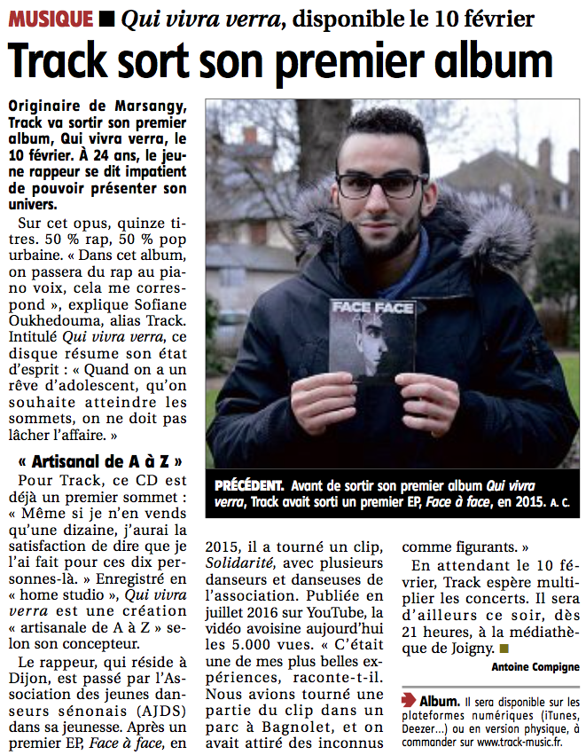 Track Qui vivra verra Yonne Républicaine